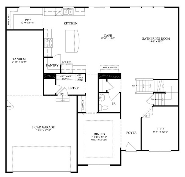 Riverton Model - First Floor