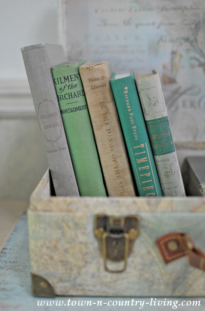 Vintage Books Vignette