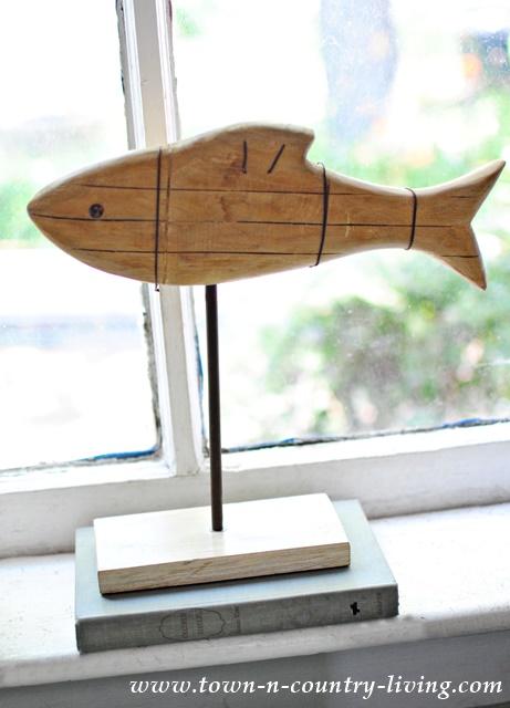 Wooden Fish Decor