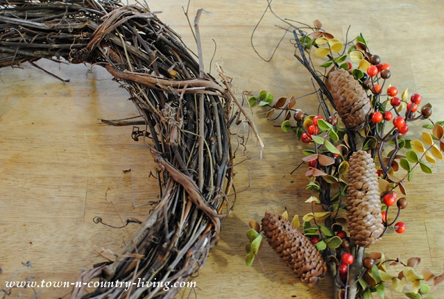 DIY Fall Wreath - Supplies