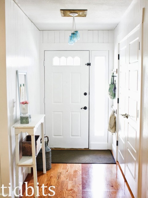 Light and Bright Entryway