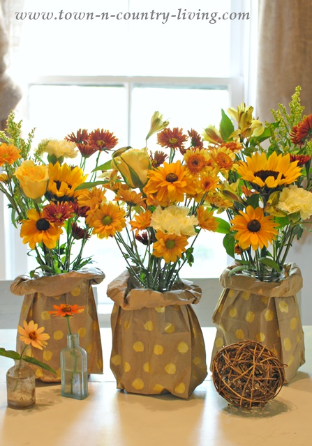 How to Make Paper Bag Vases