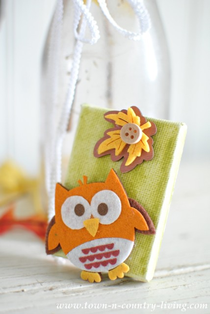 DIY Fall Owl Magnets
