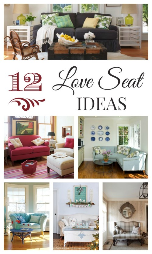 12 Examples to Add a Love Seat to Your Living Space