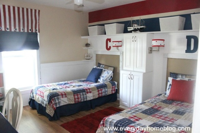 Pottery Barn Inspired Boy's Bedroom