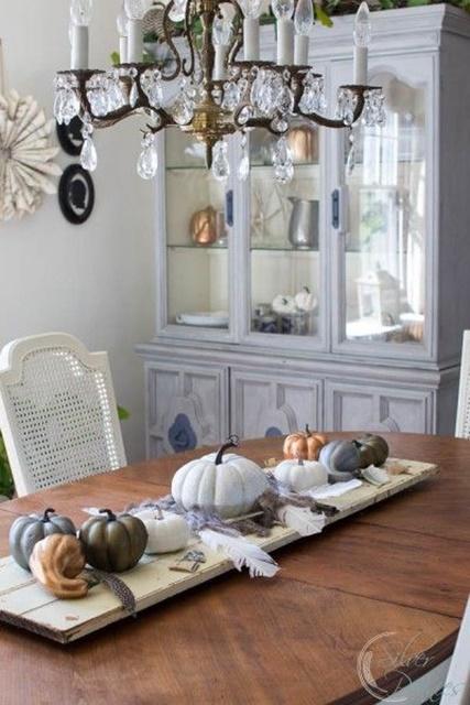 Metallic Pumpkins by Finding Silver Pennies
