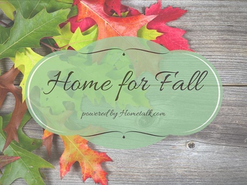 Home for Fall. Visit all the links for Fall inspiration!