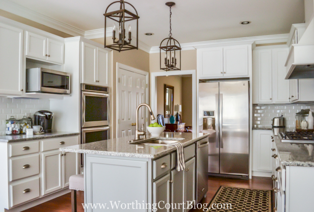 traditional kitchen cabinets charming home tour worthing court town amp country living 27284