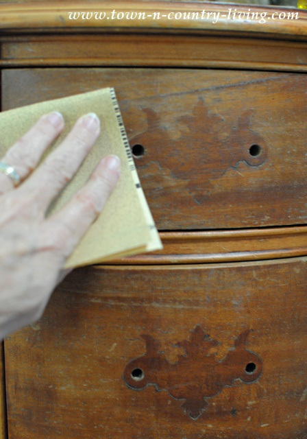 How to prep furniture for painting
