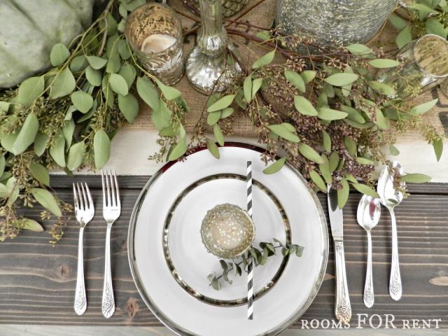 Thanksgiving Table Setting from Rooms FOR Rent
