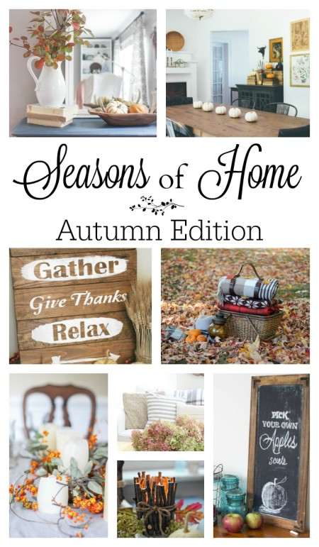 Seasons of Home - Autumn Edition. Visit these 8 bloggers for Fall inspiration!