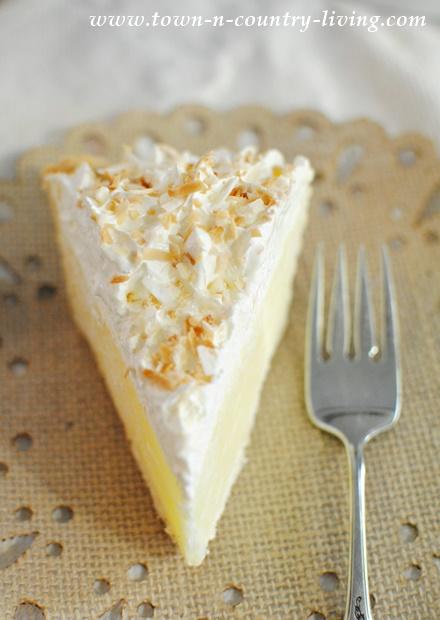 Slice of Coconut Cream Pie by Marie Callender's Desserts