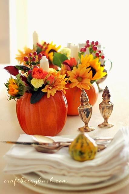 Pumpkin Vases by Craftberry Bush