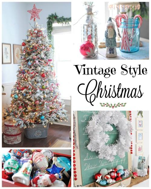 Celebrating a Vintage Christmas
