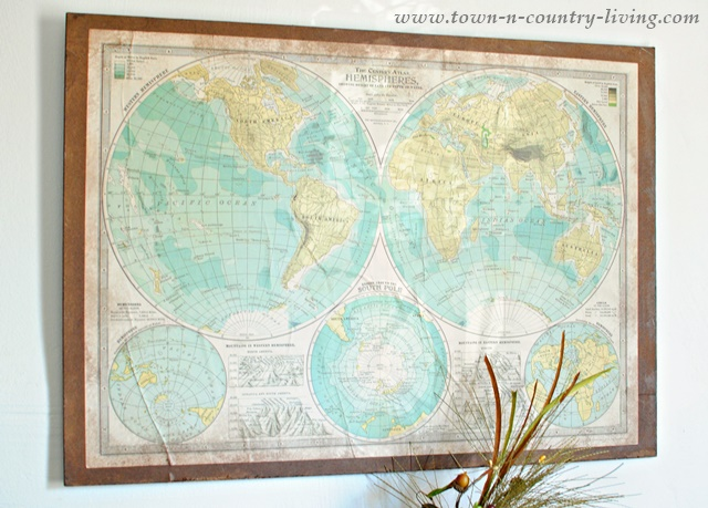 Decorative Wall Map