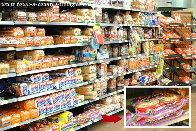 Bread Aisle at Walmart